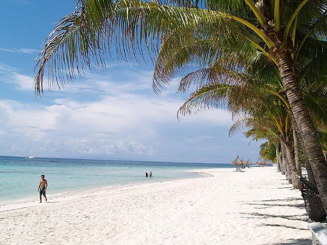 Strand paa Panglao Island