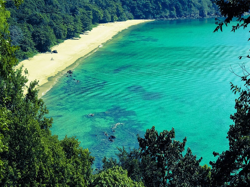 Sydthailands natur, strande og øer