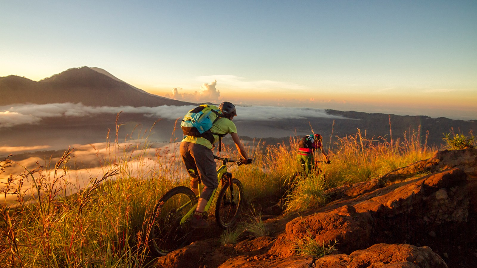trekking, rafting og mountainbiking på Bali
