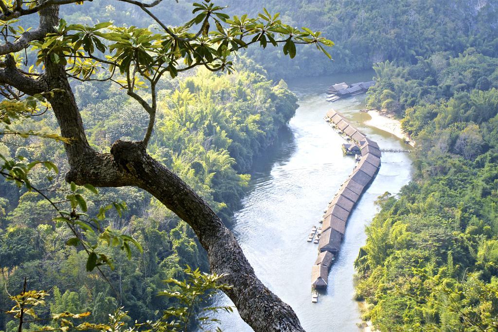 River Kwai og hvide sandstrande