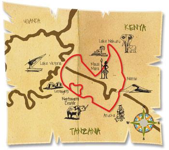 12 dage oestafrika