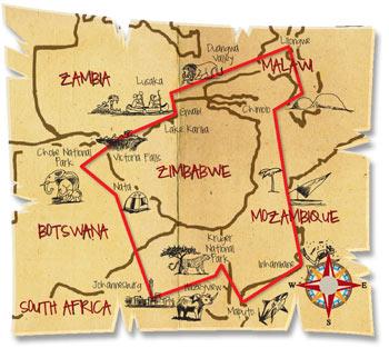 24 dage afrika explorer