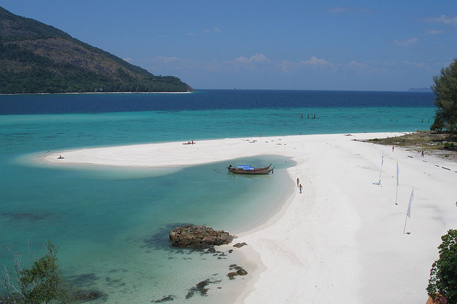 Strand paa Koh Lipe