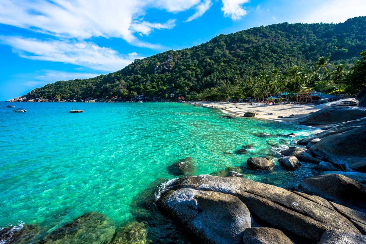 Øhop på Koh Tao, Koh Phangan og Koh Samui