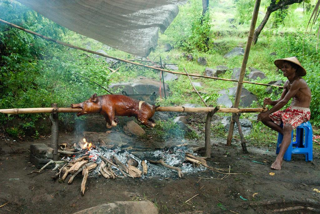 Suckling pig på Bali