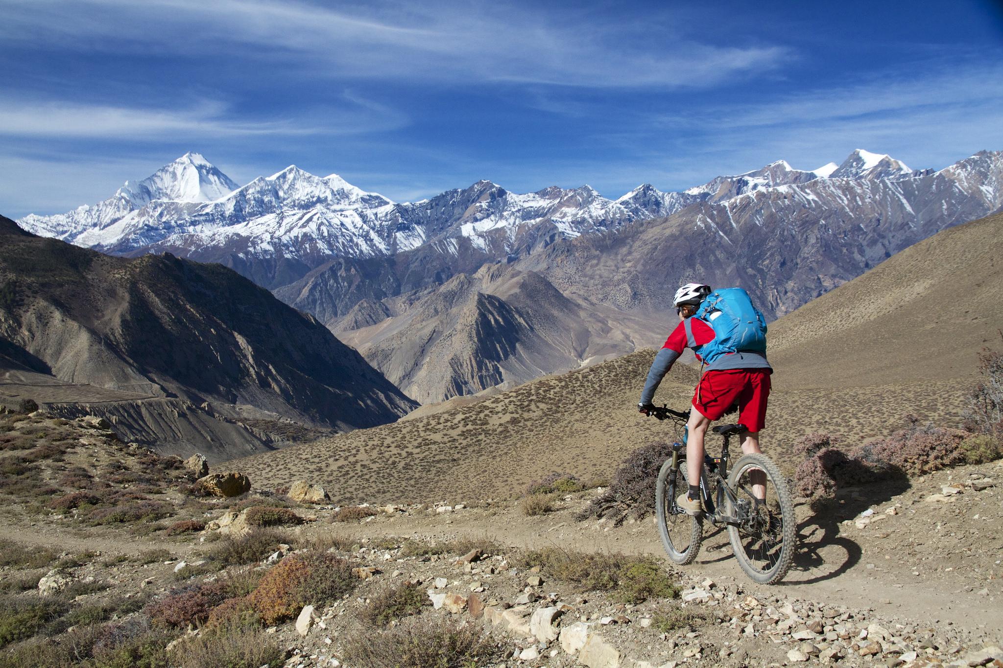 11 Dage - På mountainbike fra Kathmandu til Pokhara