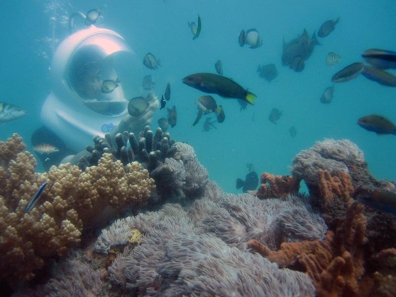 Sea Walker på Bali