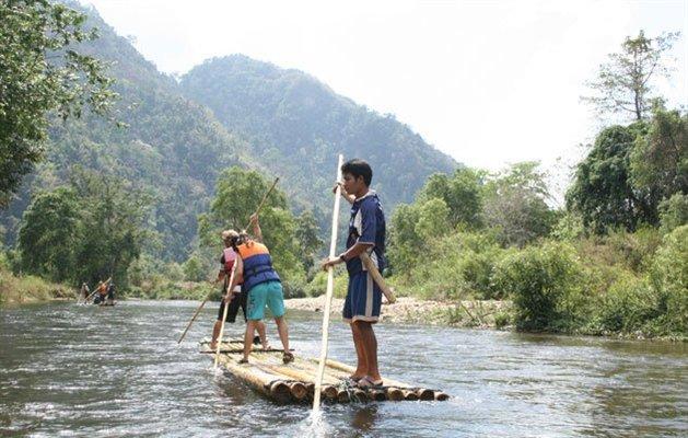 bambus rafting