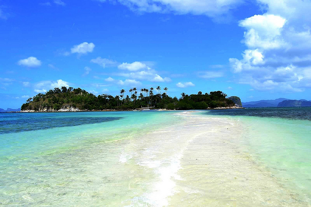 Snake Island El Nido på Palawan
