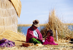 Uros-Indians-in-Lake-Titicaca