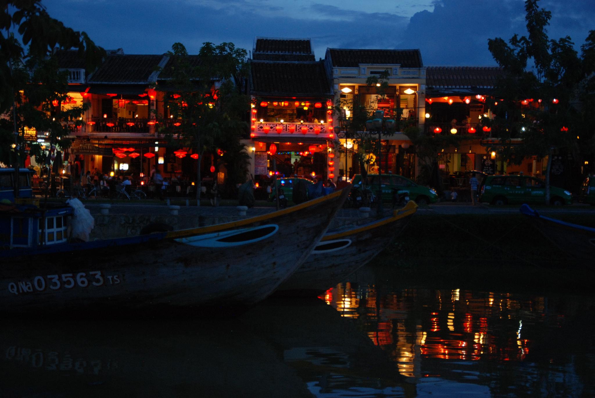 Havnefronten i Hoi An